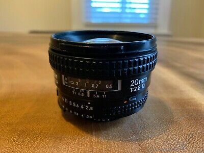 Nikon NIKKOR 20mm f/2.8 D CRC AF SIC Lens Used with Some Haze