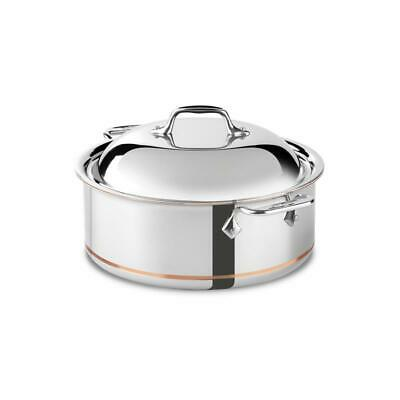 All-Clad Copper Core 6 Qt. Round Roaster 650618SS in retail box