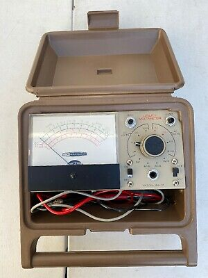 Heathkit Utility Solid-State Voltmeter Model IM-17 with case