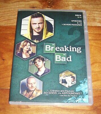 Breaking Bad (DVD) SEASON 2 DISCS 3&4 - Better Call Saul, 4 Days Out, and more