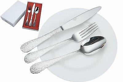 20 pcs Stainless Steel Flatware Set Knife Fork Spoon Dining Service For free shi