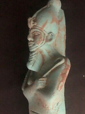 Rare Large Ancient Egyptian Stone Ahmose Statue ( 1493 to 1479 BC)