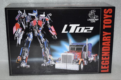 Transformable Toy LegendaryToys Movie 5 LT02-W Blue and White Porcelain