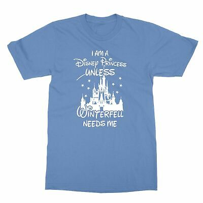 I Am A Disney Princess Unless Winterfell Needs Me Hoodie Funny Gift for Disney Fans