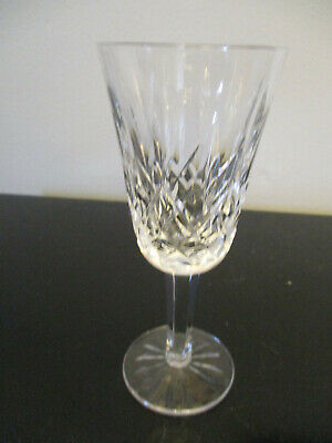 """Waterford Irish Cut Crystal Lismore Liquor Sherry Glass Goblet 5-1/4"""" by 2-1/8"""""""