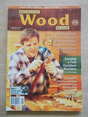 Australian Wood Review #48~Projects~Plans~Techniques~Instructions....