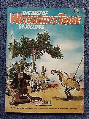 THE BEST OF WITCHETTY'S TRIBE by Jolliffe <Australian Comic, 1980, Soft>