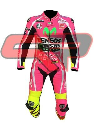 Movistar Pink Valentino Rossi 46 Yamaha MotoGB 2018 Leather Special Design