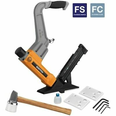 Pneumatic Nailer Flooring Comfortable Rubber Grip Power Tool 2-in 16-Gauge