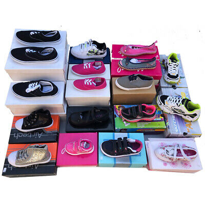 Wholesale Job/Lot Clearance Pumps, Trainers, High Tops, Shoes all Junior Sizes