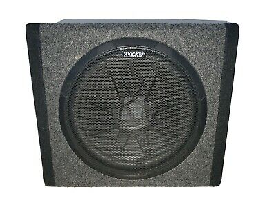 Kicker Bass Station 12 Inch Enclosed Sub And Amp In One