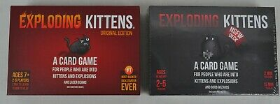 Exploding Kittens Original + NSFW (sealed) Edition Card Board Game Party