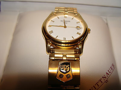 United Parcel Service UPS 30 Years of Service Watch Wittnauer 2 Diamonds A1