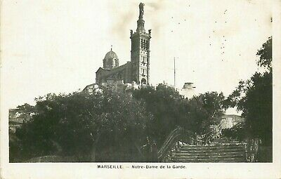 13 Carte Photo Marseille Notre-Dame De La Garde