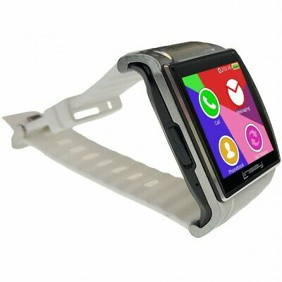 Linsay EX5LW Executive Smart Watch with Camera - White