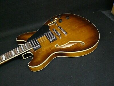 IBANEZ AS73-TBC ELECTRIC SEMI-HOLLOW THINLINE ELECTRIC GUITAR 335 style Sunburst