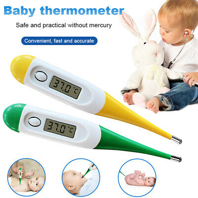 LCD Digital Thermometer Medical Baby Adult Body Safe Oral Electronic Thermometer