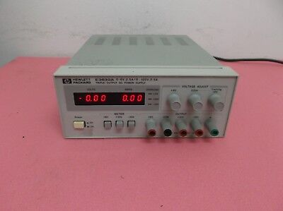 Hp E3630A Triple Output Lab Bench Dc Power Supply