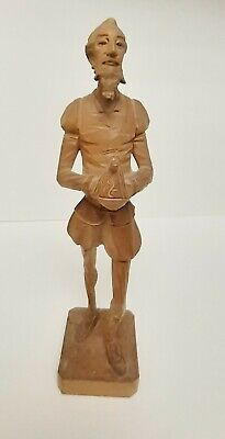 Ouro Artesania Don Quixote Man La Mancha Wood Figure Sculpture Spain 1060-A VTG