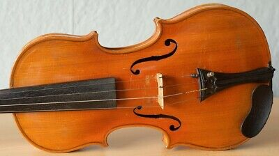 "Very old labelled Vintage violin ""Jacobus Stainer"" fiddle 小提琴 ヴァイオリンGeige 966"