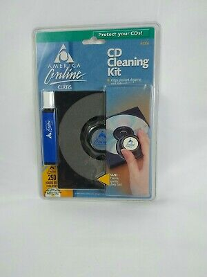 CD cleaning kit, ACK6.  CURTIS COMPUTERS. AOL.