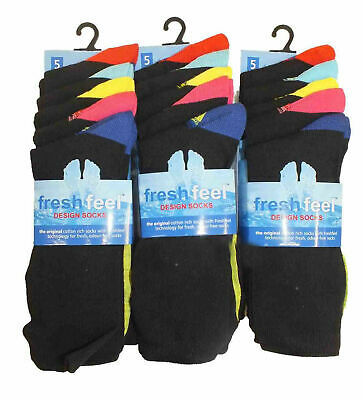 10 Pairs BOYS FUNKY HEEL TOE DESIGN SOCKS IDEA SCHOOL WEAR COTTON RICH ALL SIZES