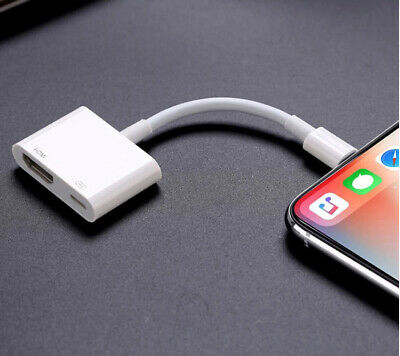 HDMI Cable Adapter for Iphone Ipad to TV NO apps / driver required