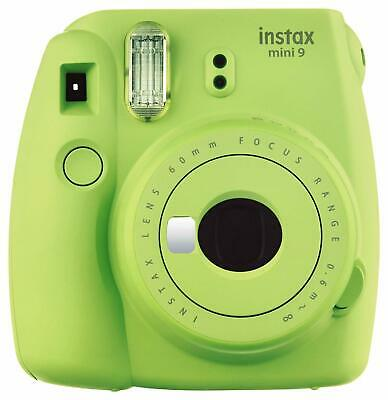 Fujifilm Instax Mini 9 Lime Green Instant Camera | Fuji Polaroid Film Camera