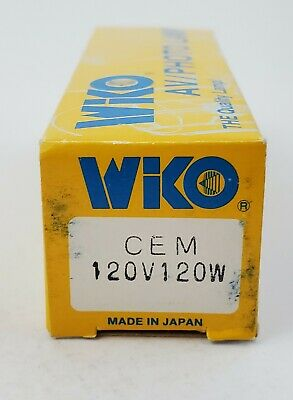 Wiko CEM Projector Lamp 120V 120W Lamp Projection