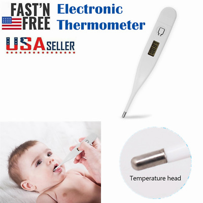 Digital LCD Thermometer Baby/Adult Oral Electronic Termometro Fever Degree Care