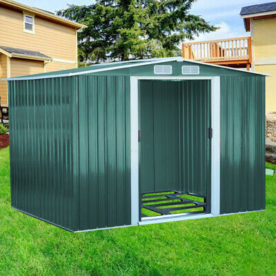 Metal Steel Garden House Shed Yard Outdoor for Tool Storage Buliding Container