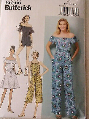 Butterick Patterns B5829 Misses Top Slippers and Bow Pants LRG-XLG-XXL Size ZZ