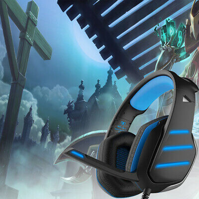 PS4 Gaming Headset Xbox One Headphone PC Earphone Stereo Bass  Noise Cancelling