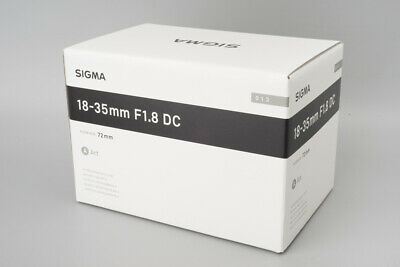 *NEW* Sigma 18-35mm f/1.8 F1.8 DC HSM Art Lens for Nikon F Mount