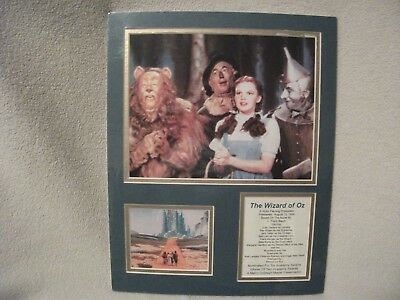 """Wizard of Oz /""""Follow the Yellow Brick Road/"""" Movie Tabletop Display Standee 10.5/"""""""