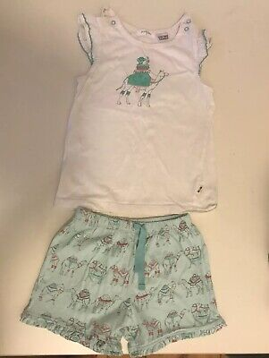 PUREBABY - Girls Pyjamas, Size 3, As New