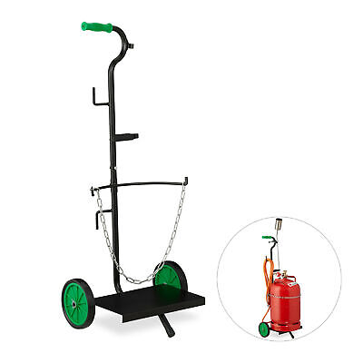 Gas Cylinder Dolly Propane Tank Trolley Butane Bottle Cart Hand Truck