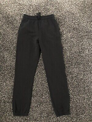 MARKS and SPENCER Girls Black Jogging Trousers Size 10-11 Years BRAND NEW