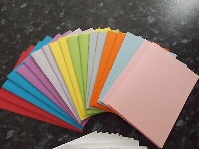 card stock 20  Multi Coloured Cards  and envelopes