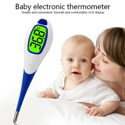 LCD Thermometer Digital Medical Electronic Temperature Baby Adult Body Safe Oral