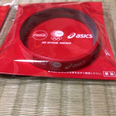 2020 Tokyo Olympics Coca cola Japan Limited Wristband RED ver