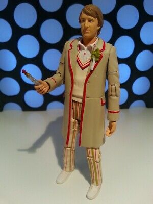 """DOCTOR WHO 5TH FIFTH DR 11 SET VERSION /& SONIC SCREWDRIVER NEW LOOSE 5/"""" FIGURE"""