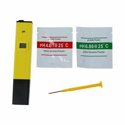 Digital PH Meter Tester Water LCD Monitor Aquarium Pen Type D2K6