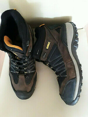 Dewalt Safety  boots size 9 Steel toe cap Work boots builders