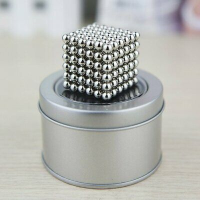 3- 5mm Magnetic Ball 216 Neodymium Bead Magnets Puzzle Cube Stress Relief Sphere