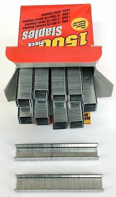 "1500 Arrow T50 Stanley Powershot Staple Guns Assorted Staples 3/8"", 1/2"", 9/16"""