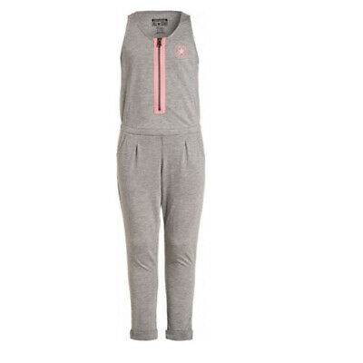 Converse Girls Grey Jumpsuit Ages 10-12 Years and 12-13 Years