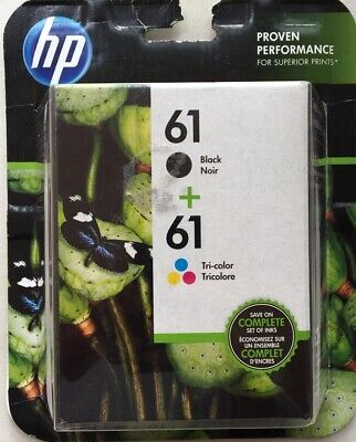 HP 61 Black + 61 Color Combo Ink Cartridge Expire Sept. 2020.