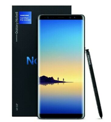 Unlocked Samsung Galaxy Note 8 64GB N950U GSM Phone Open Box with All Accessory