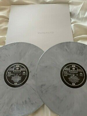 The Beatles - White Album - Grey Splash Vinyl- New/Unplayed
